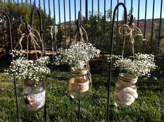 decorated mason jars for weddings unavailable listing on etsy 3341