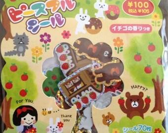 Japan Mind Wave FUNNY FUNNY fairy tales sticker sacks
