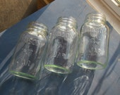 3 Quart Mason Star Jars.  Free Shipping.
