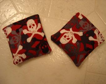 Skulls Print Hand Warmers Corn Cozie
