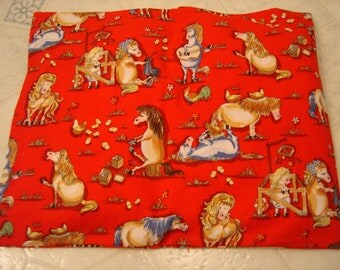 Silly Horses Red Back Warmer Corn Cozie