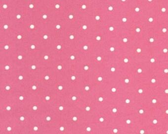 1/4m Barefoot Roses Dot Pink - Tanya Whelan