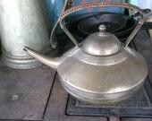 Antique Brass teakettle