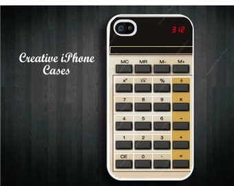 iPhone 5c case Old School Retro Calculator - iPhone 4 Case, iPhone 4S Case, iPhone 5, iPhone 5s, iPhone 5c