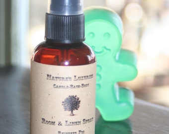 Christmas Tree scented Room & Linen Spray 2 oz