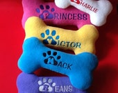 Personalized Dog Bone (1 x-large)