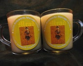 MEAD Massage Candle in 8oz mug. (Candle, Lotion,  Massage Oil, Insect Repellant All-in-One)