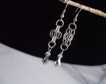 Simple Chainmaille Earrings