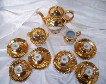 Romantic tea set, Porcelain