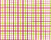 Robert Kaufman, Fabric by the Yard Kona Colorworks 2, Pink Plaid, APL-11216-236 Garden, 1 yd
