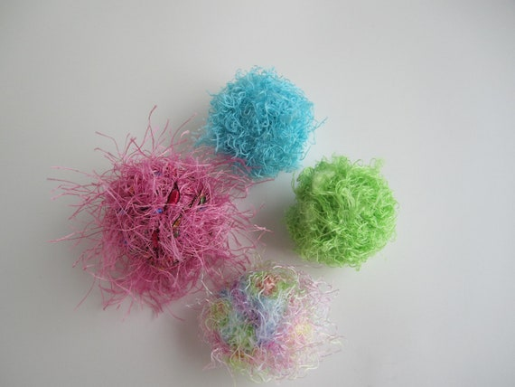 Organic Catnip Balls- Set of 4