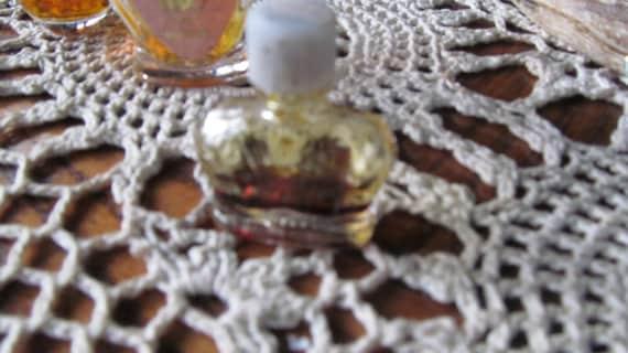 Smelling Pretty 2 Miniature Perfume Bottles Mini Crown Royal Plus Round Perfume Ball Container
