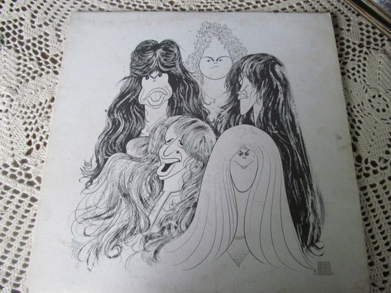 N H Loves 1977 Aerosmith Album Steve Tyler Draw The Line Milk