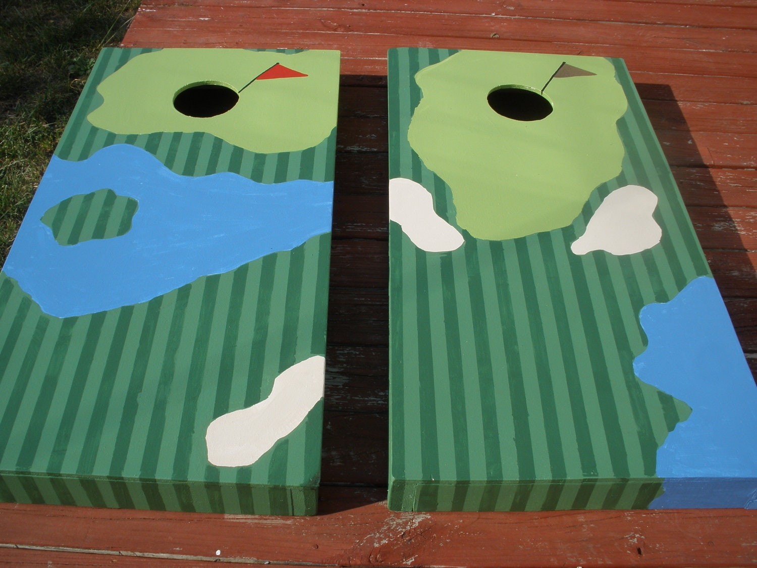 us vintage flag cornhole - Cornhole Design Ideas
