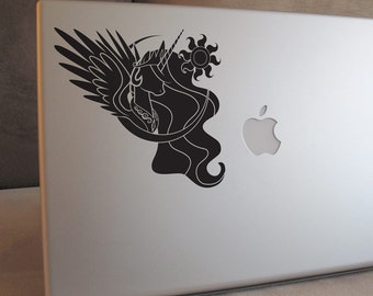 Princess Celestia Vinyl Decal