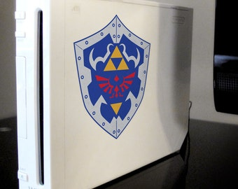 Legend of Zelda-Ocarina of Time Shield Vinyl Four Color Decal