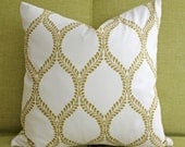 "16"" x 16"" Regal Leaves Pillow Cover"