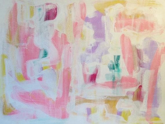 Ramona, original abstract painting