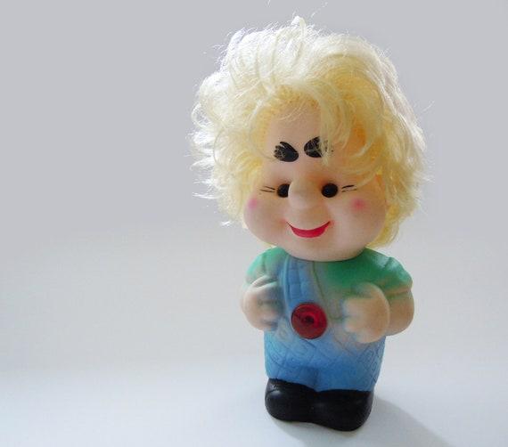 Vintage Soviet children's toy Karlsson