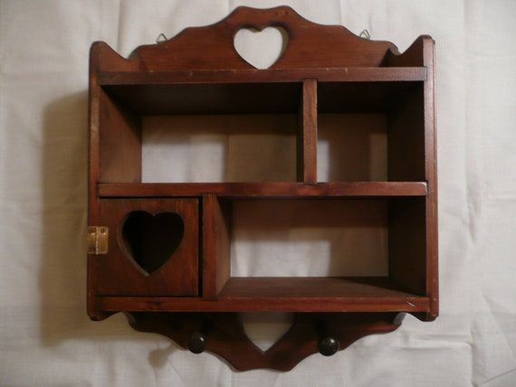 Vintage Wood Knick Knack Shelf