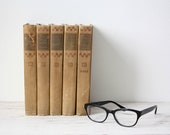 SALE Vintage Book Lot of 5 - Foreign Short Story Classics from 1907