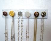 Neutral Necklace Rack Jewelry Organizer #619
