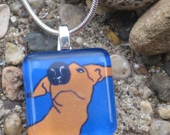 Greyhound Necklace - Stargazer