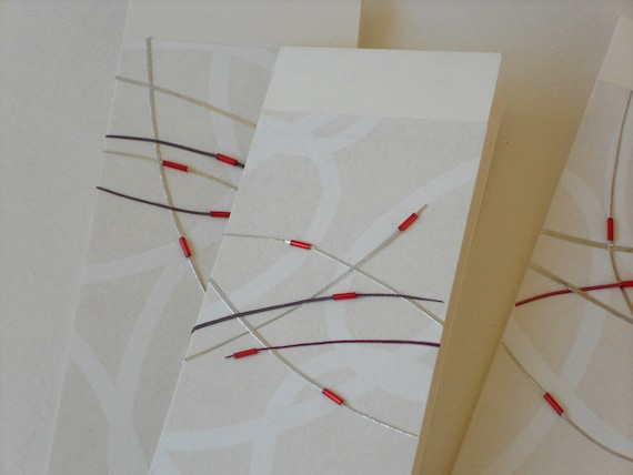 Handmade greeting card reserved