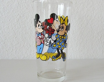 1978 Pepsi Collector Series Mickey & Minnie Mouse