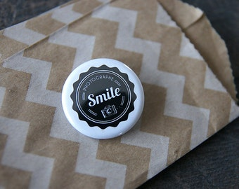 Badge photographer SMILE