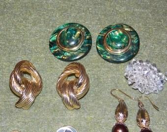 Sale Vintage Lot of Earrings (7pr)