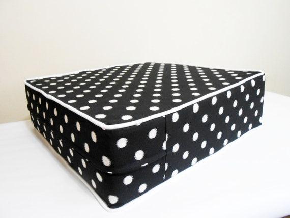 Floor Cushions Outdoor : Ikat outdoor indoor floor pillow floor cushion square