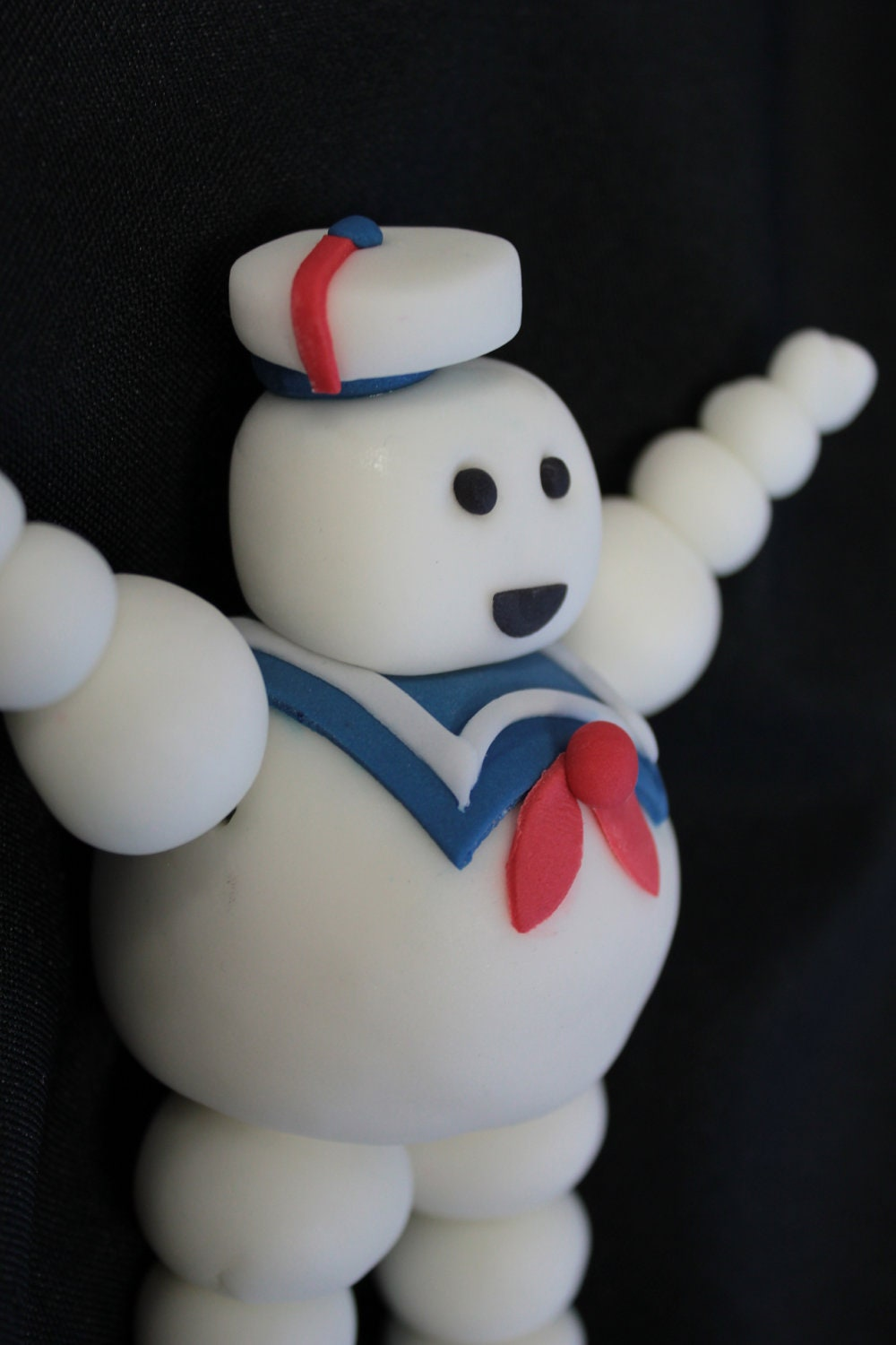 How To Make Stay Puft Marshmallow Man Cake