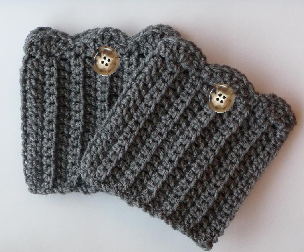 Free Boot Cuff Knit Pattern