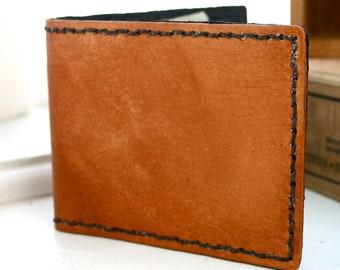 Deluxe Bi-Fold. Mens leather wallet