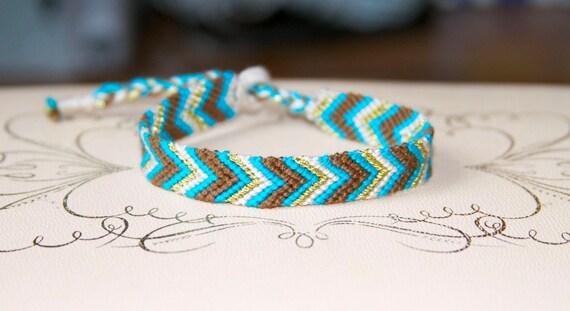 Friendship Bracelet Chevron
