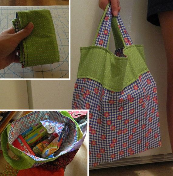 Fat Quarter Grocery Bag Pattern Pdf
