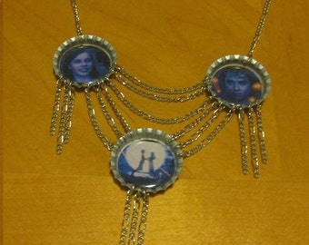 Confessions of a Teenage Drama Queen Inspired Necklace