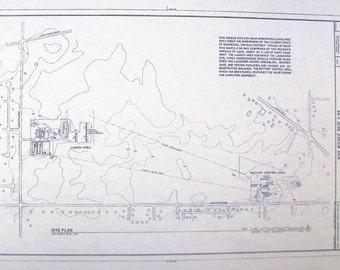 Nike Missile Base C-84 Blueprint