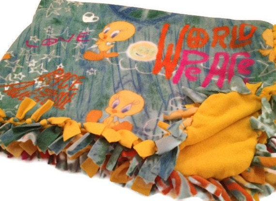 Tweety Bird Blanket By Warner Brothers Soft By