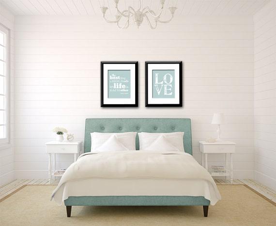 audrey hepburn quote love print bedroom decor bedroom wall