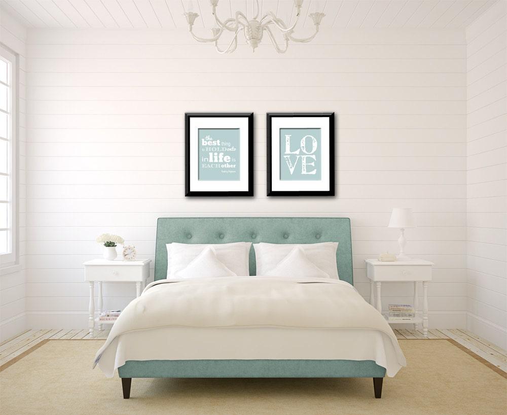 Audrey hepburn quote love print bedroom decor bedroom wall for Audrey hepburn bedroom designs
