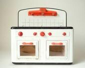 Vintage Toy Stove - German Tin Stove Fuchs Play Kitchen