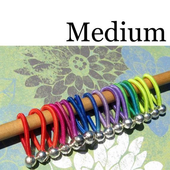 FLOOPS - knitting stitch markers (18) - size Medium