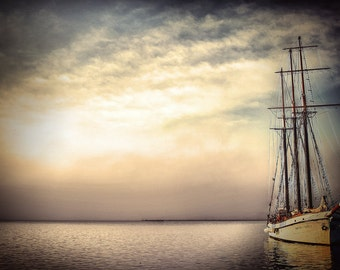 tall ship of the day fine art photography romantic sailing decor