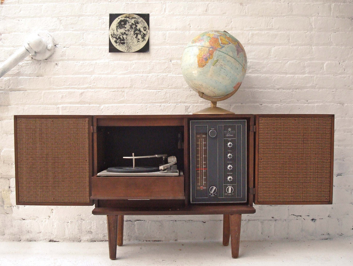 Record Player Solid State Stereo Cabinet Reserved For