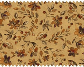 Harvest Home 8873-E in beize, brown, green, and gold tones.