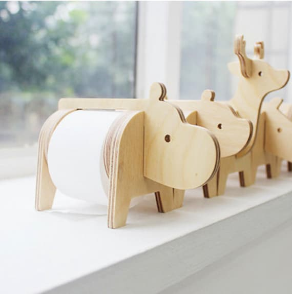 Safari tape holder by harvard5f on etsy Animal toilet paper holder
