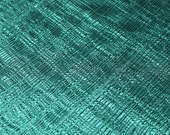 Bottle Green Pleated Fabric by the yard