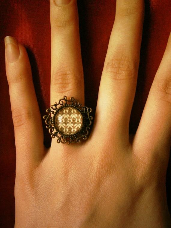 221B Baker Street - Sherlock BBC inspired ring